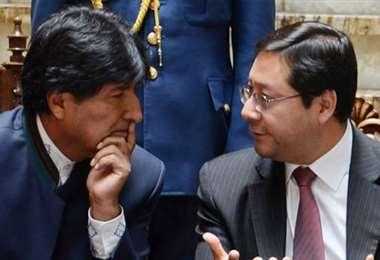 Arce fue muy cercano a Evo Morales.