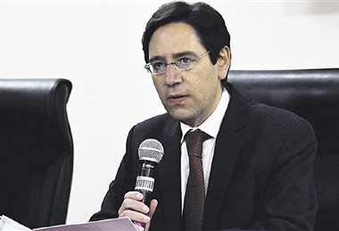 El presidente del Órgano Electoral, Salvador Romero