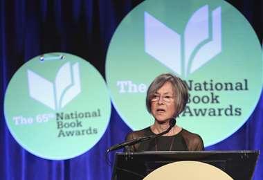 La poeta estadounidense Louise Glück. Foto AFP