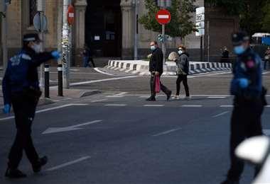 La ciudad de Madrid. Foto AFP