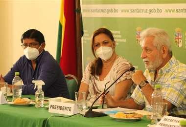 El gobernador, Costas destacó la reactivación del CAD (Foto: INRA)