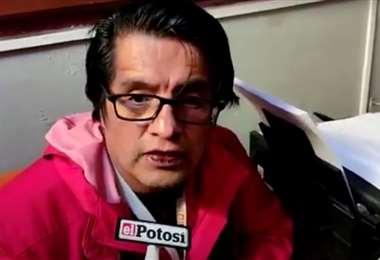 Toro es director de Contenidos de El Potosí
