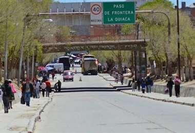 Una de las fronteras con Argentina.