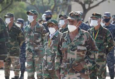 Desagravio a combatientes de Ñancahuazú/Foto: Fuad Landívar