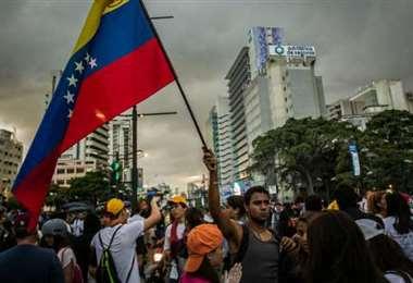 Protestas hay casi todos los días en Venezuela. Foto Internet