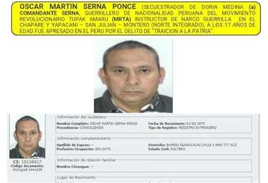 Serna Ponce I archivo.