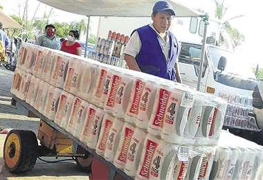 Crece el contrabando de alimentos y bebidas afectando a la industria