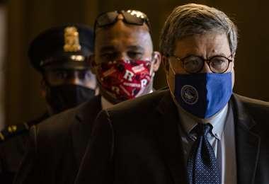 Se dice que Barr es un leal escudero de Trump /AFP