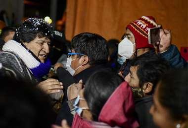 Evo Morales retorna a Bolivia/Foto: AFP