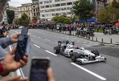 El GP de Fórmula Uno de Turquía será el domingo, en el Intercity Istanbul Park. Foto: AFP