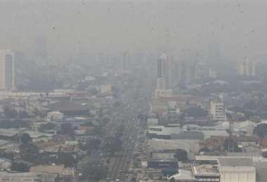 La ciudad recupera su panorámica sin humo en el aire. Foto: Ricardo Montero