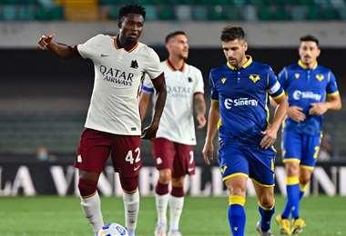 El partido de la Roma y el Hellas Verona terminó 0-0. Foto: Internet