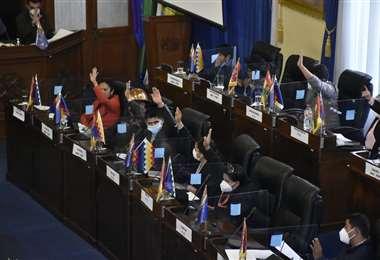 La votación en la Cámara Alta I APG Noticias.