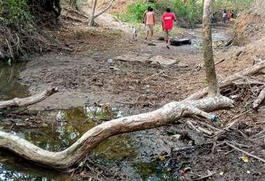 Se reestablece el cauce del río para combatir la sequía