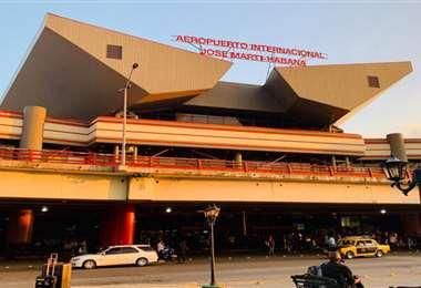 La terminal aeroportuaria de La Habana. Foto Internet