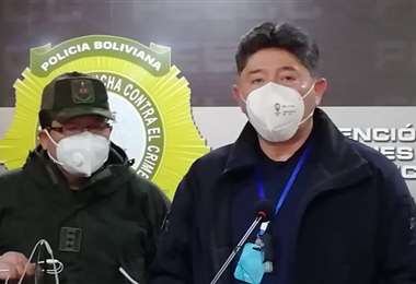 El director de la Felcc de La Paz, Alfredo Vargas. Foto: ABI