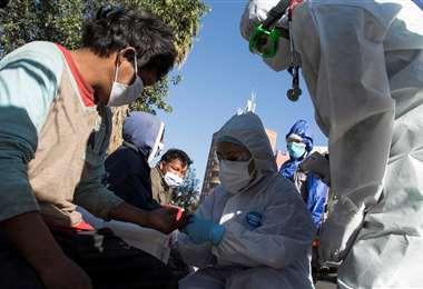En Bolivia hay 142.664 infectados. Foto: APG