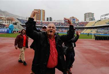 Fernando Costa es presidente del club Always Ready de La Paz. Foto: internet
