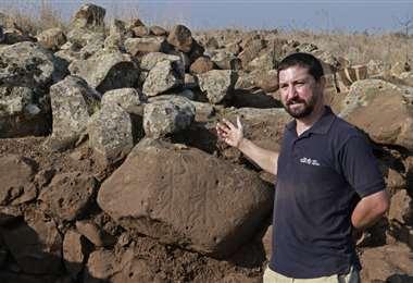 La fortaleza de 3.000 años de antigüedad. Foto AFP
