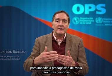 Jarbas Barbosa, subdirector de la OPS. Foto Internet