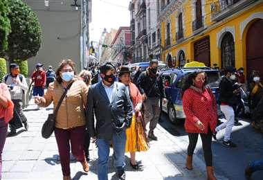 Los hechos de violencia en plaza Murillo I APG Noticias.