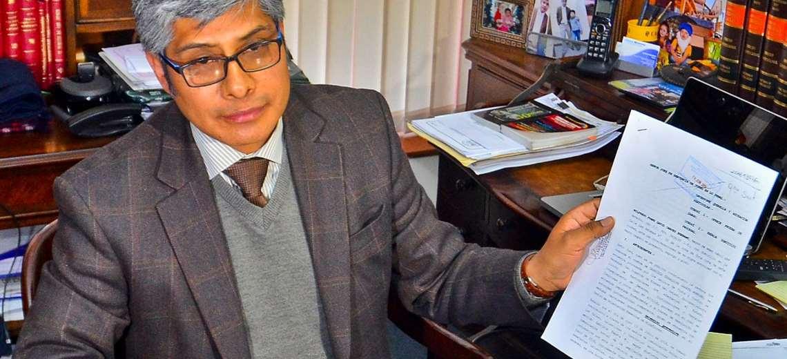 El abogado de Evo tendrá un cargo en el actual gobierno