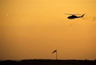 El helicóptero siniestrado pertenecía a la Fuerza Aérea de Israel