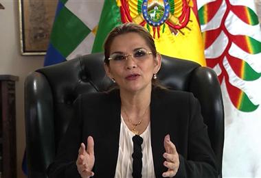 Jeanine Áñez, expresidenta de Bolivia. Foto. Internet