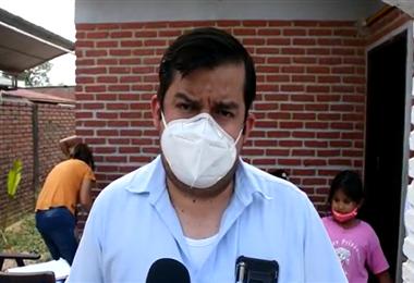Heberth Fernández, secretario de Salud de la Alcaldía de La Guardia