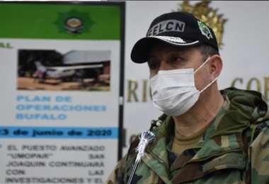 Frías expuso el hecho en conferencia de prensa. Foto referencial