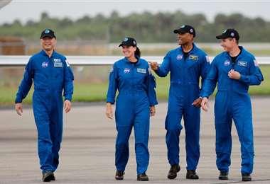 Los astronautas están listos para partir. Foto Internet