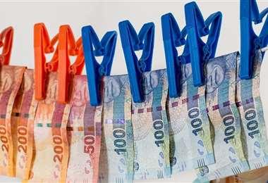 Operativo contra el lavado de dinero. Foto Internet