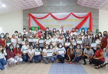 El programa busca rescatar el derecho de los más jóvenes (Foto: Gobernación de Santa Cruz)