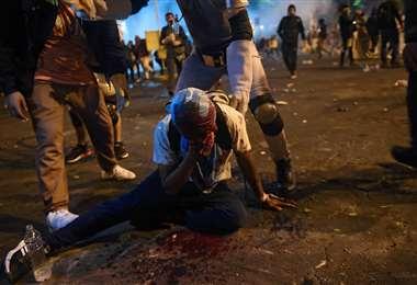 Sangrientas protestas en Perú | Foto: AFP