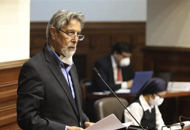 Sagasti es el nuevo sucesor de Manuel Merino/AFP