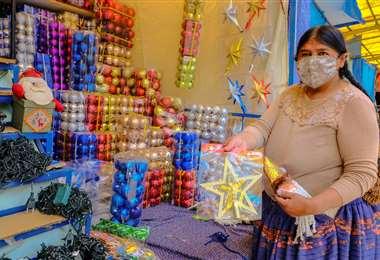 En La Paz, se abrirán las ferias navideñas.
