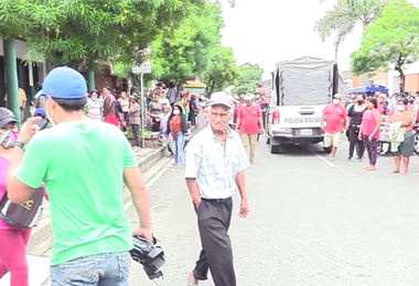 Agresiones a la prensa durante los enfrentamientos en Montero