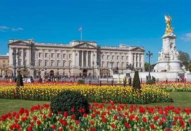 El palacio de Buckingham es la residencia oficial de los reyes británicos