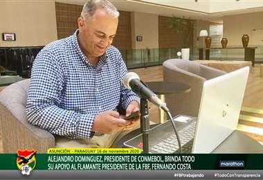 Fernando Costa, presidente en ejercicio de la FBF. Foto: FBF