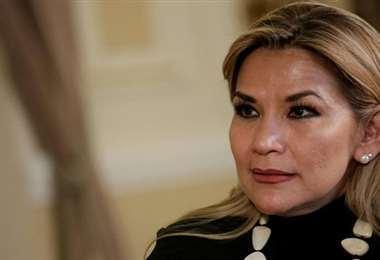La exmandataria, Jeanine Áñez.