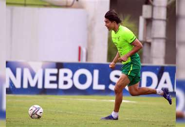 Marcelo Martins comandará la delantera de la Verde. Foto: Prensa FBF
