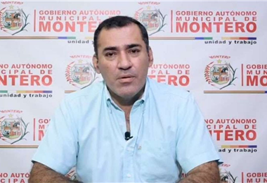 Miguel Ángel Hurtado, exalcalde de Montero. Foto. Archivo