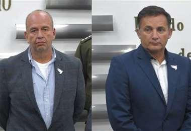 Murillo (izq.) y López (der.) fueron dos de los hombre fuertes del Gobierno transitorio