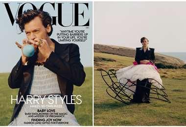 Styles, de 26 años, es un amante de la moda, sin importar el género para el que esté hecha