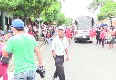 10 arrestados tras los enfrentamientos en Montero
