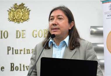 El exdirector de Migración, Marcel Rivas.