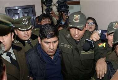El exvocal accedió a la detención domiciliaria