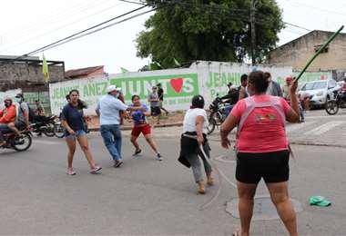 Los enfrentamientos se dieron por temas políticos. Foto: Zona Norte