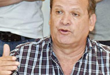 David Paniagua, secretario general de Fabol. Foto: El Deber