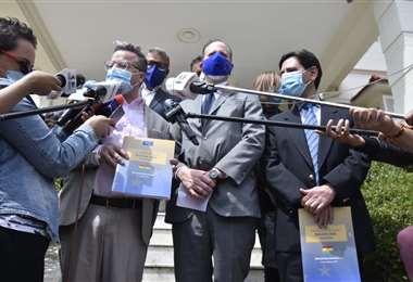 La delegación de la UE I APG Noticias.